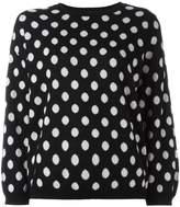 Societe Anonyme polka dot pullover