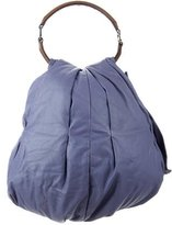 Marni Pleated Leather Hobo