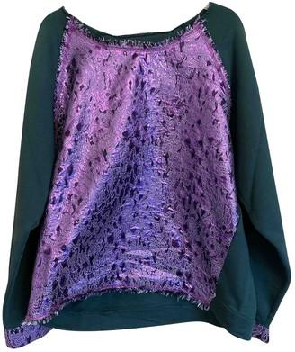 Gaelle Bonheur Green Cotton Knitwear for Women