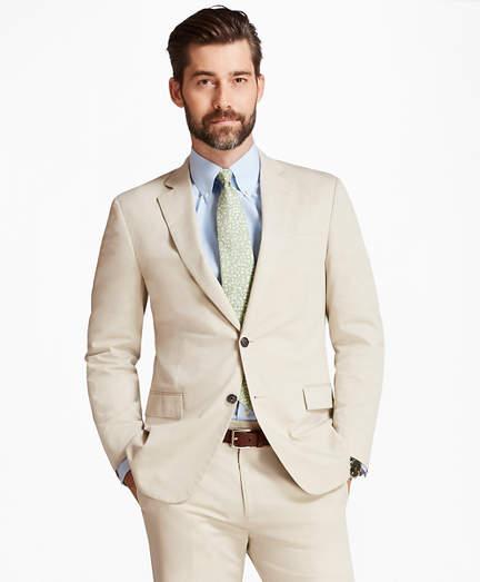 Brooks Brothers Regent Fit Stretch Cotton Suit