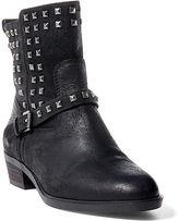Ralph Lauren Shaelynn Studded Suede Boot