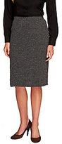 Liz Claiborne New York Petite Textured Ponte Knit Skirt
