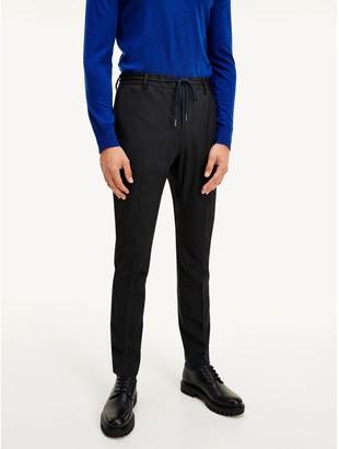 Tommy Hilfiger Slim Fit TH Flex Virgin Wool Trouser