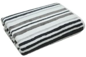 "Charter Club Elite Cotton Tri-Stripe 30"" x 56"" Bath Towel, Created for Macy's Bedding"