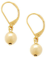 Lauren Ralph Lauren Metal Ball Drop Earring