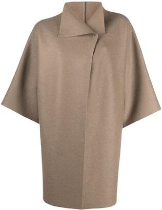 Harris Wharf London Three-Quarter Sleeve Coat