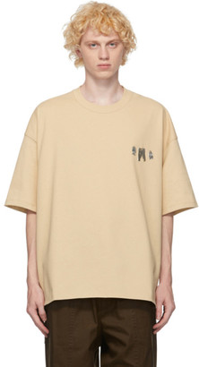 Jil Sander Tan Metal Decoration T-Shirt