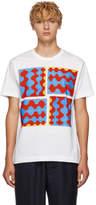 Comme des Garcons Homme Deux White Graphic T-Shirt