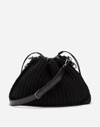 Dolce & Gabbana Knit Crossbody Bag