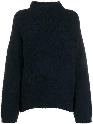 Vince Teddy funnel-neck jumper