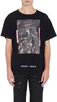 Off-White Men's Mixed-Print Cotton T-Shirt