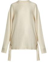 Tibi Tie-side cashmere sweater