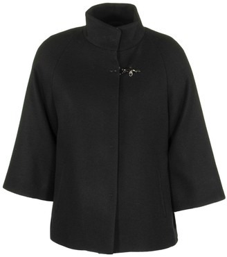 Fay Cape Black Coats