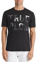 True Religion Textured-Logo Graphic Tee