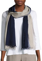 Eileen Fisher Wool, Silk & Cashmere Ombre Scarf