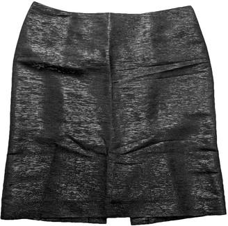 CNC Costume National Black Silk Skirt for Women