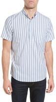 Nordstrom Men's Slim Fit Stripe Popover Sport Shirt