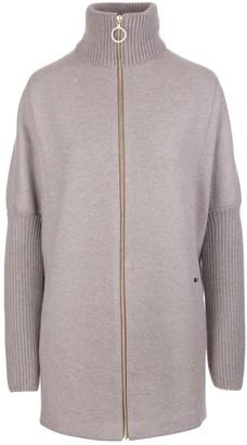 Fedeli Light Grey Gru Ml Felt Double Sweater