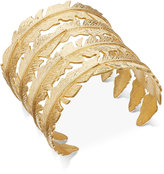 INC International Concepts Gold-Tone Feather Cuff Bracelet, Only at Macy's