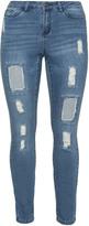 Junarose Plus Size Slim fit Five jeans