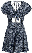 Denim & Supply Ralph Lauren Floral Tie-Front Dress