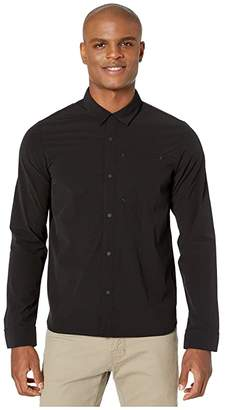 The North Face North Dome Long Sleeve Shirt (TNF Black) Men's Long Sleeve Button Up