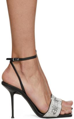 Alexander Wang Black Julie Heeled Sandals
