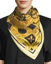 Versace Regal Slither Foulard Scarf
