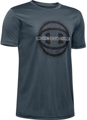 Under Armour Boys' UA Basketball Branded Short Sleeve