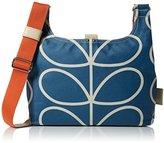 Orla Kiely Women's Giant Linear Stem Mini Sling Bag Shoulder Bag