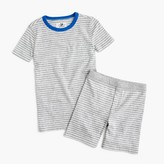 J.Crew Boys' pajama set in stripes