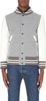 Junya Watanabe Ribbed Jersey Bomber Jacket