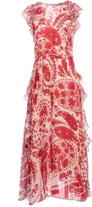 Twin-Set TwinSet Long Dress W/print