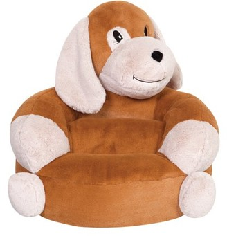 Trend Lab Children's Plush Puppy Character Chair