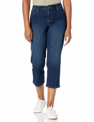 Gloria Vanderbilt Women's Generation Modern Straight Cropped Jean