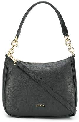 Furla chain strap logo plaque bag
