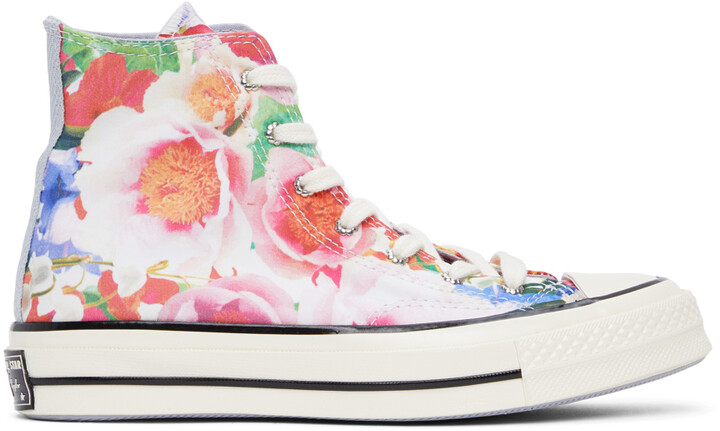 Thumbnail for your product : Converse Multicolor Floral Chuck 70 High Sneakers