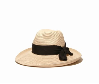 Physician Endorsed Women's Adriana Toyo Straw Fedora Packable Sun Hat Rated UPF 50+ for Max Sun Protection