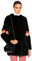 Shrimps Faux Fur Frilly Joseph Coat