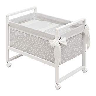 Camilla And Marc Cambrass Small Bed/Crib (55 x 88 x 72 cm, Next Star Grey)