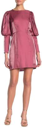 Ontwelfth Sleek Balloon Sleeve Mini Dress
