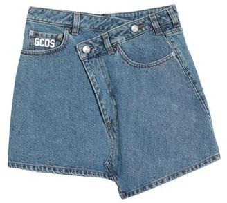 GCDS Denim skirt