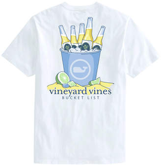 Vineyard Vines Bucket List Short-Sleeve Pocket Tee