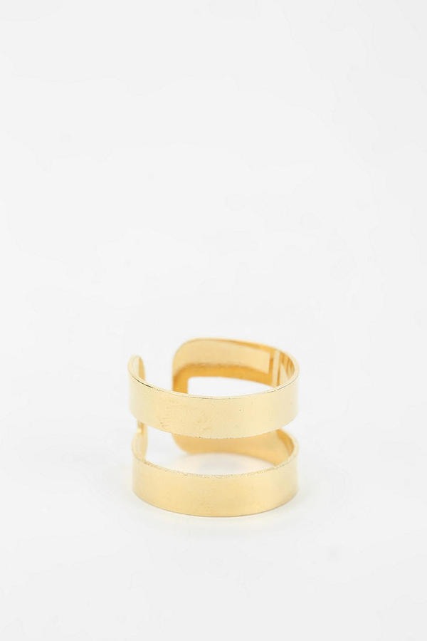 Urban Outfitters Locked In Cuff Ring
