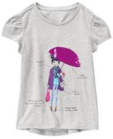 Gymboree Rainy Chic Tee