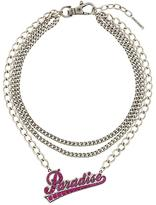 Marc Jacobs multi-strand Paradise necklace