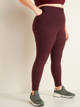 Old Navy High-Waisted Jersey Balance Plus-Size Leggings