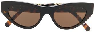Stella McCartney Falabella cat eye sunglasses