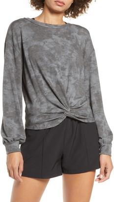 Zella Twist Front Pullover