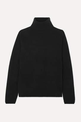 Allude Cashmere Turtleneck Sweater - Black